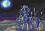 A Night in Canterlot by DawnMistPony