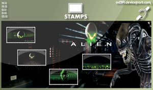 Stamps - 1979 - Alien by od3f1