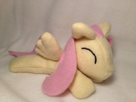 Filly Fluttershy beanie plush v2.0 by Bewareofkitty