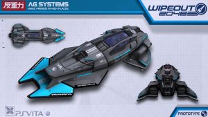 AG Systems Protoype - Wipeout2048 - PSVita by nocomplys
