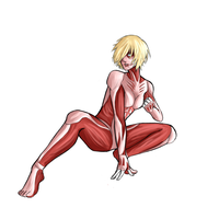 Female Titan by xLunatiCXz