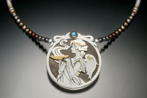 The High Priestess by KellyMorgenJewelry