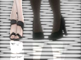 MMD Shoes by brenokisch
