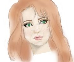 Lily Evans | The One With the Red Hair by love-luna-good