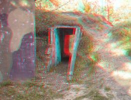 The Passsage 3D anaglyph by yellowishhaze