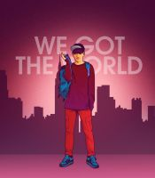 We Got the world by iPeccatore