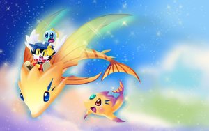 A Ride on the Flying Fish by PhuiJL
