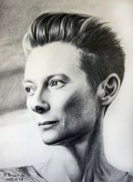Tilda Swinton by moni-kaa5