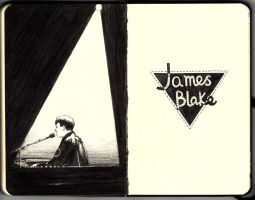 James Blake gig @ Hong Kong by wwei