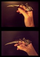 Dragon Blade Ring by LostMemoryOfADream