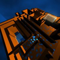 A-MAZE-ing Maze Angled View by gameover89