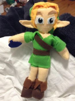 Young Link? by bingle23