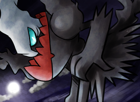 Darkrai by FENNEKlNS