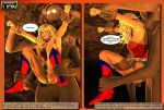 Ultra Woman in The Labrynth - Stone Gauntlet Pg 9 by DesertLion3D