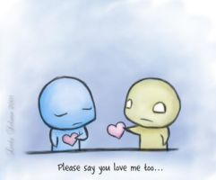 I Love You. - Pon and Zi by Susaleena