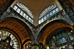 Central station Antwerpen by frensvandersluis