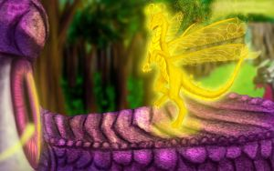 Sparks_The Dragon Fairy by Tsitra360