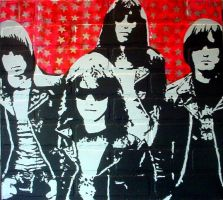 The Ramones 2008 by chrispjones