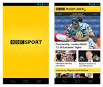 BBC Sport Android App Design by and471