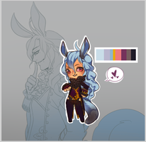 Adoptable Auction: Regal Rabbit-Hybrid (CLOSED) by aicchi