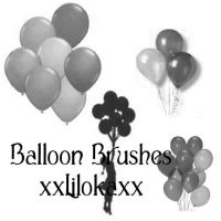 Balloon Brushes by superlibbie