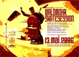 Waldmohr Skatesession 1 Flyer by peak7