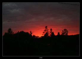 Sunset in Lithuania by exd