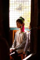 A Kayan Woman by shadeMM