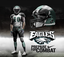 Philadelphia Eagles Away Uni by DrunkenMoonkey