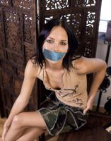 Anna Faris gagged by The-email