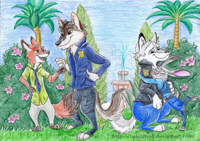 Welcome to Zootopia! by Nakouwolf