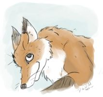 Fox Sketchy by Eltharion