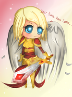 Chibi Kayle by FigureEight