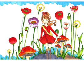 The Secret World of Arrietty by lynchees