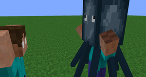 Adventures of Steve and Herobrine 2: Squid by Americanaooni