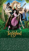 Tangled Troll Poster by Angie-Andrea