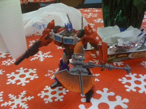 Transformers Prime FE Voyager Optimus Prime 2 by Septimus-Prime