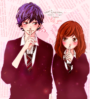 Ao haru ride by orageux