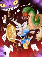 Alice in Wonderland by Kevichan