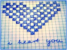 I heart you by Lyvi