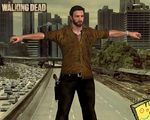 TWD Rick Grimes 3D MODEL FAN 3 season by sidneymadmax