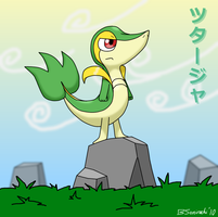Snivy: Lean, Mean and Green by BSonirachi