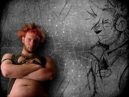 the man... the art by furryfoto-fotography