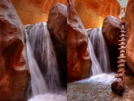 Slot Canyon Southern Utah II by ernieleo