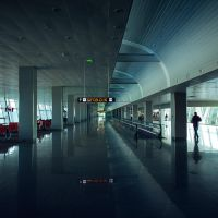 A Day at the airport VIII by siamesesam