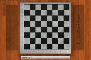 Chess Board 4Simple Chess Game by LucasSandes