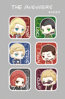 The Avengers by mymidgard