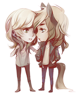 Chibis by Faelicia