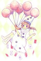 Happy Pierrot by fuanteinaa