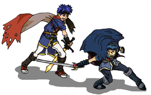 The Emblem Swordsmen -BRAWL- by PharoahArch